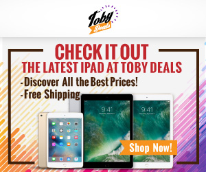 The Latest iPad on TobyDeals UK