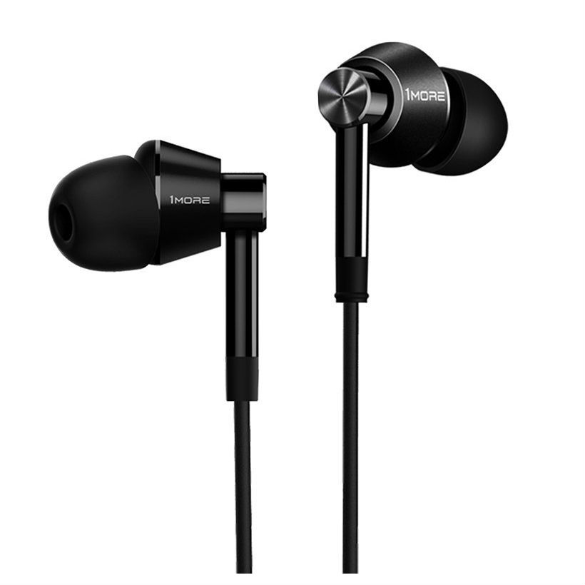 1MORE E1017 Dual Driver In Ear Headphones - Black