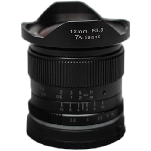 7artisans Photoelectric 12mm f/2.8 Lens for Canon EF-M Mount - Black