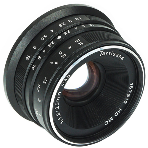 Compare prices for 7artisans Photoelectric 25mm f1.8 Lens for PanasonicOlympus M43 Black
