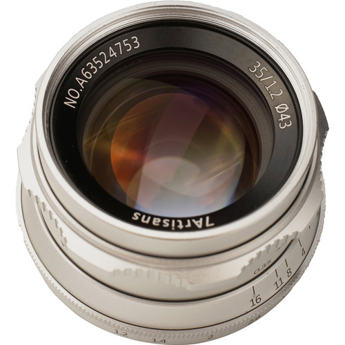 Image of 7artisans Photoelectric 35mm f/1.2 Lens for Canon EF-M Mount - Silver