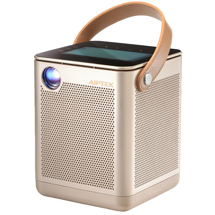 Aiptek Boombox Projector P800 with professional sound system and Android tablet