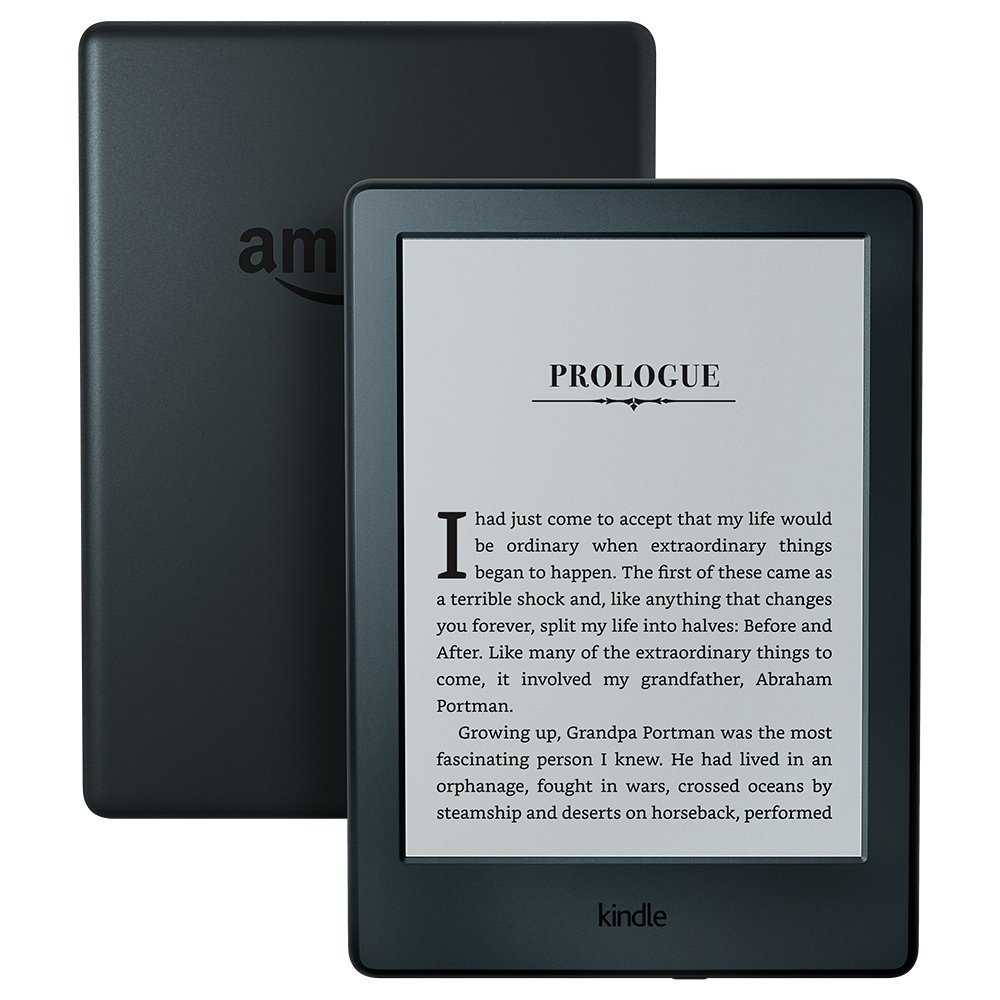 All-New Kindle E-reader 6″ Glare-Free Touchscreen Display, Wi-Fi – Black