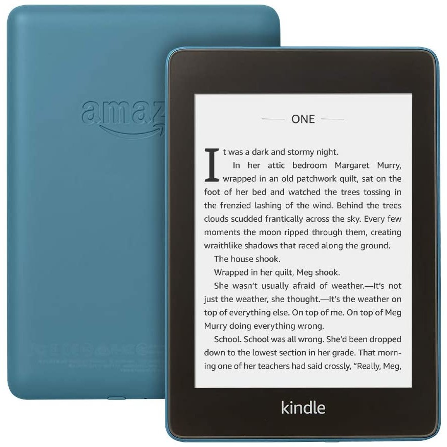 Image of Amazon Kindle Paperwhite (2018) 32GB WiFi IPX 8 - Blue