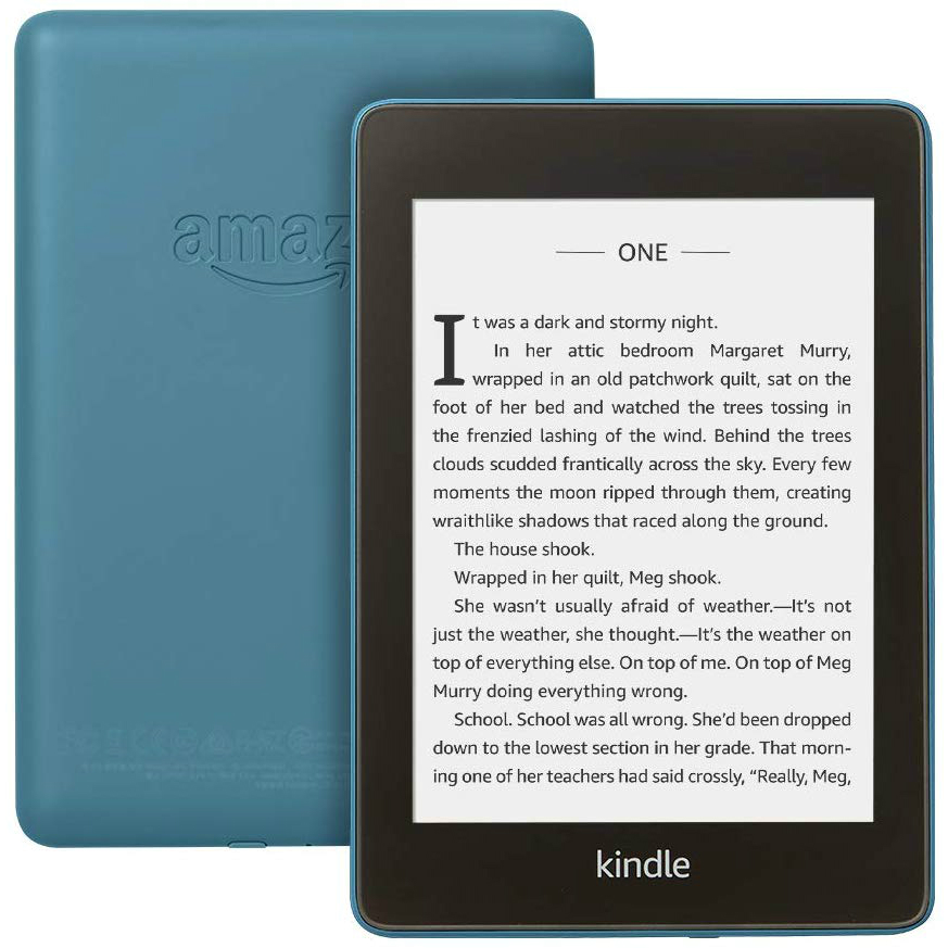 Image of Amazon Kindle Paperwhite (2018) 8GB WiFi IPX 8 - Twilight Blue