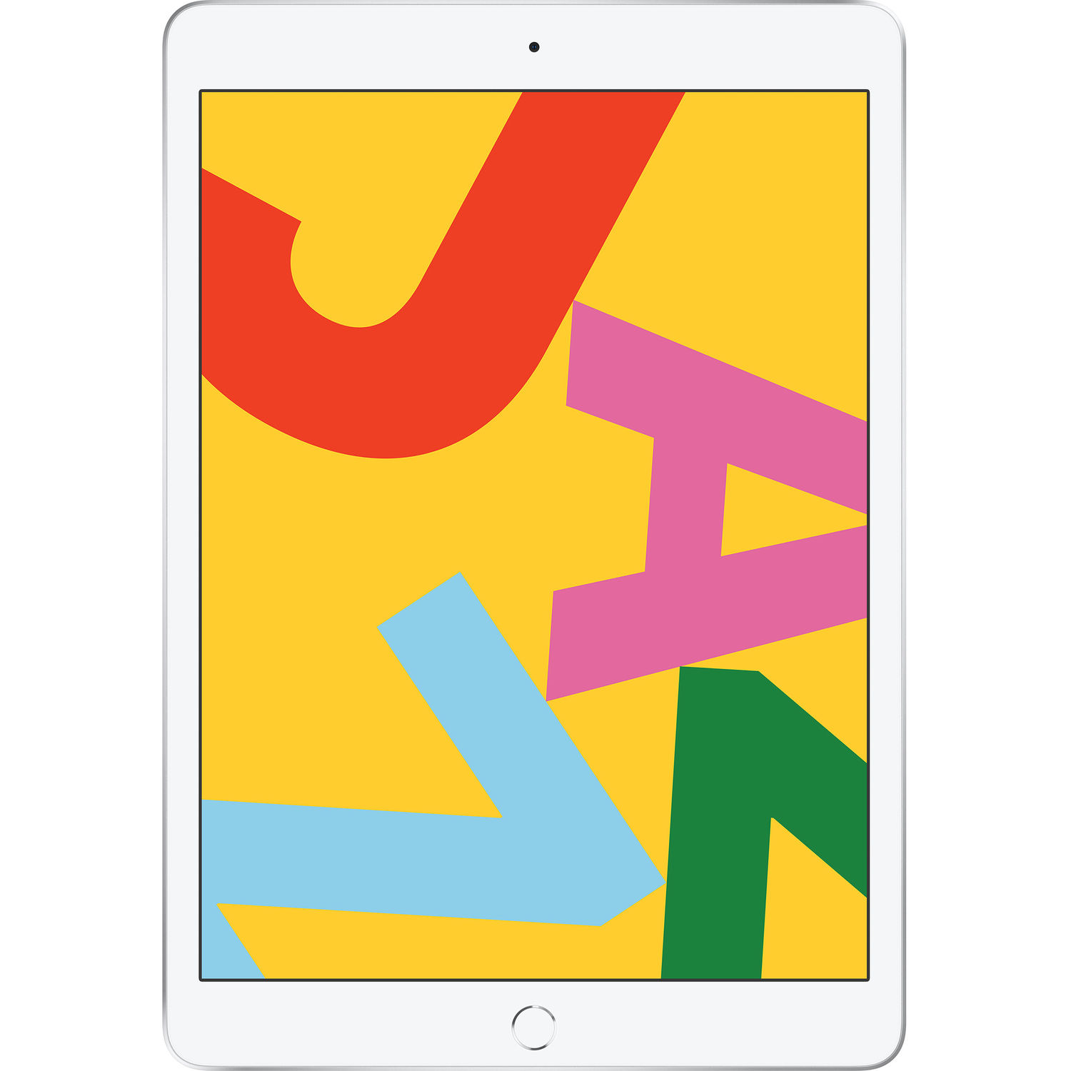 Image of Apple iPad 10.2 (2019) 128GB Wifi - White Silver [with 1 year official Apple Warranty]