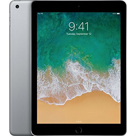 Apple iPad 9.7 2018 32GB Wifi with Generic iPad 9.7 2018 Folding Case Black Space Gray cheapest retail price