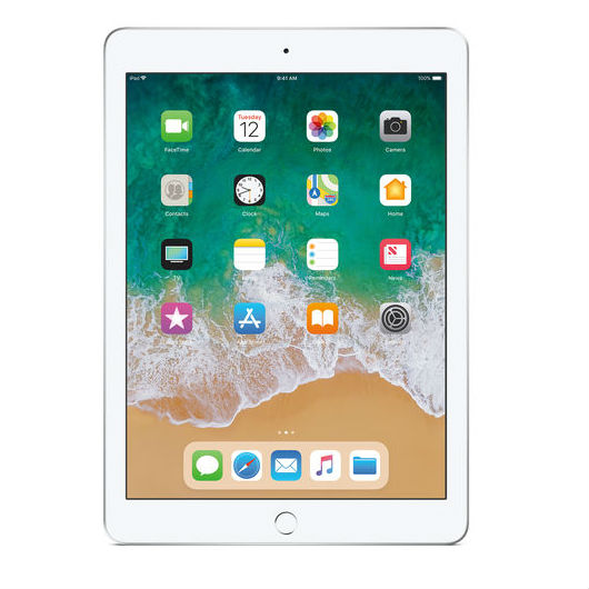 "Apple iPad 9.7"" (2018) 128GB 4G - Sliver cheapest retail price"