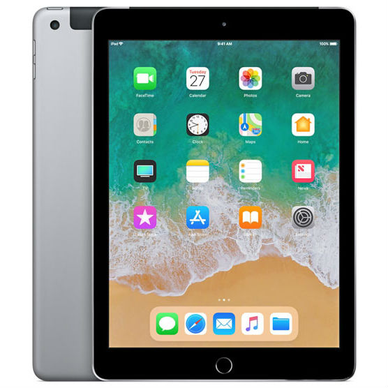 Apple iPad 9.7 2018 128GB 4G Space Gray cheapest retail price