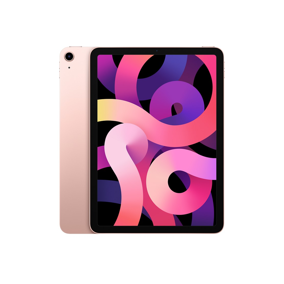 Image of Apple iPad Air 2020 4th generation A14 256GB Wi-Fi - Rose Gold