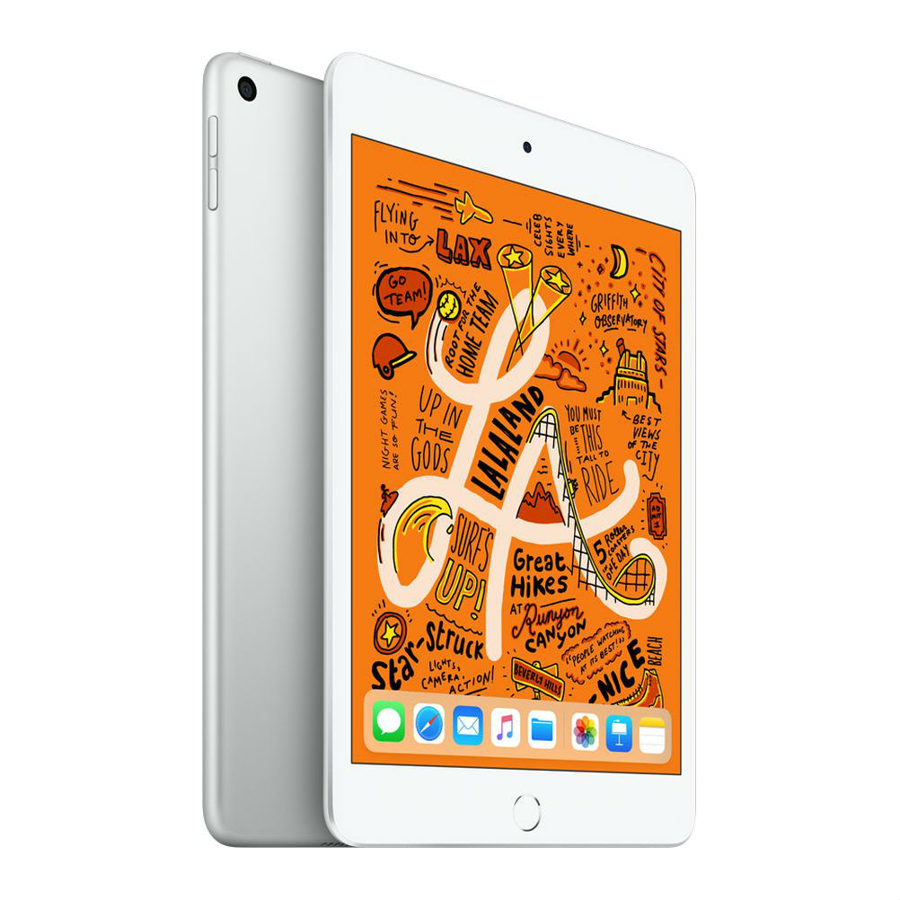 Image of Apple iPad mini (2019) MUQX2 64GB WiFi - Silver (with 1 year official Apple Warranty)