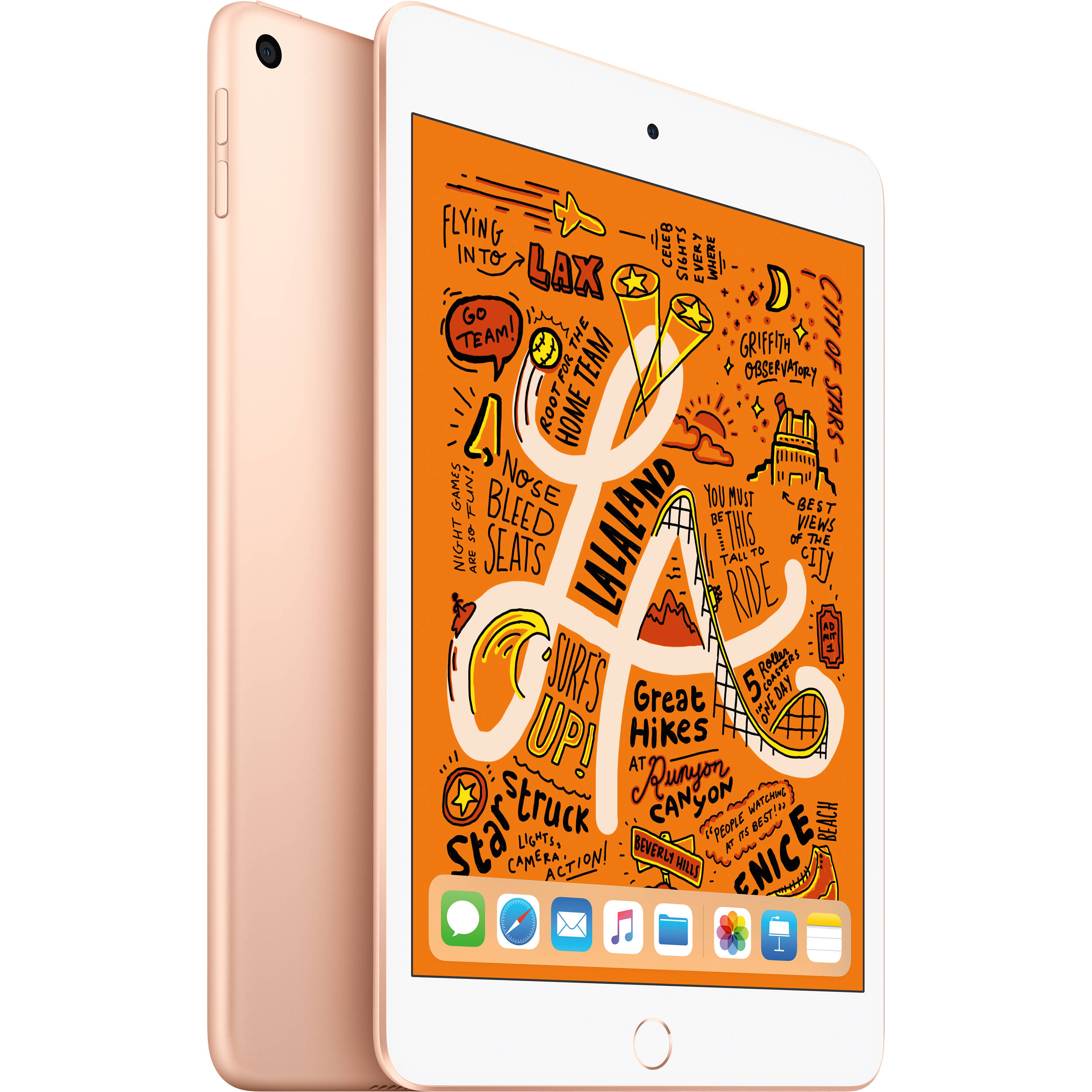 Image of Apple iPad Mini (2019) MUQY2 64GB WiFi - Gold (with 1 year official Apple Warranty)