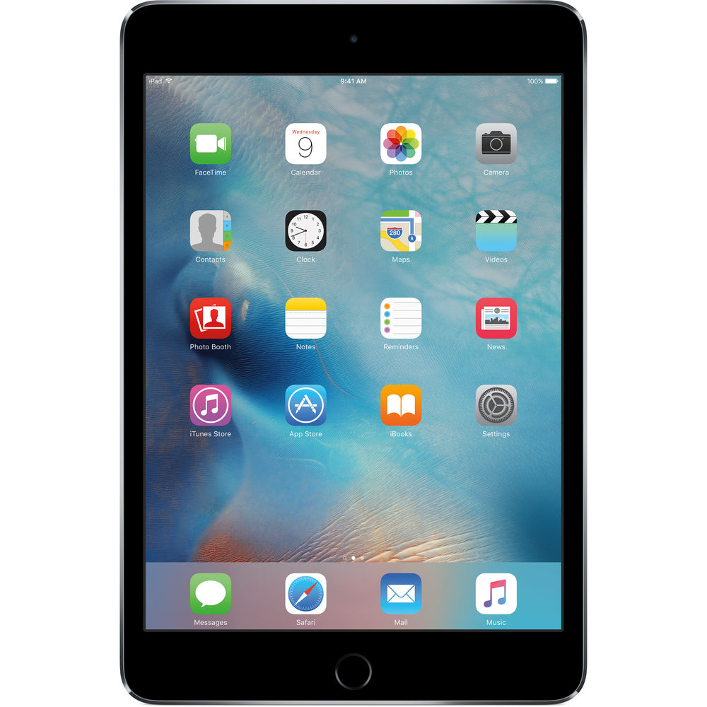 Image of Apple iPad Mini 4 128GB Wifi MK9N2 - Space Gray