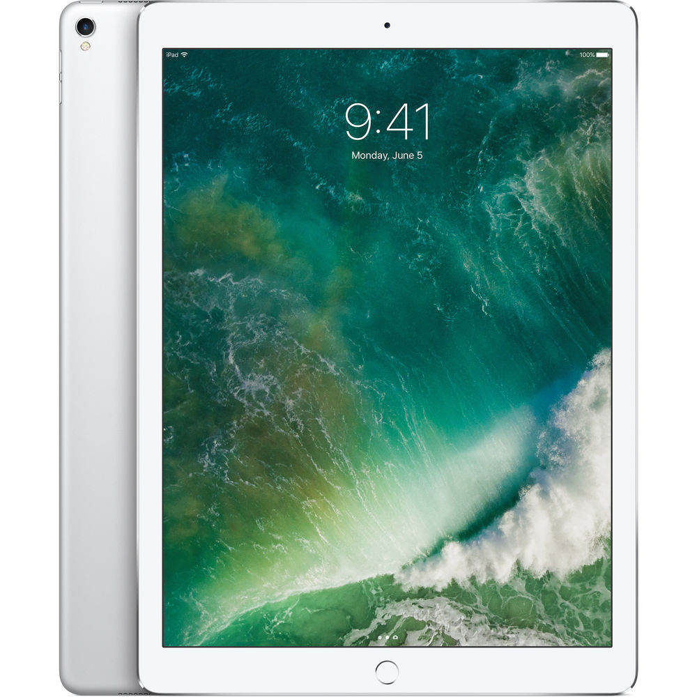 "Image of Apple iPad Pro (2017) 12.9"" 64GB 4G - Silver"