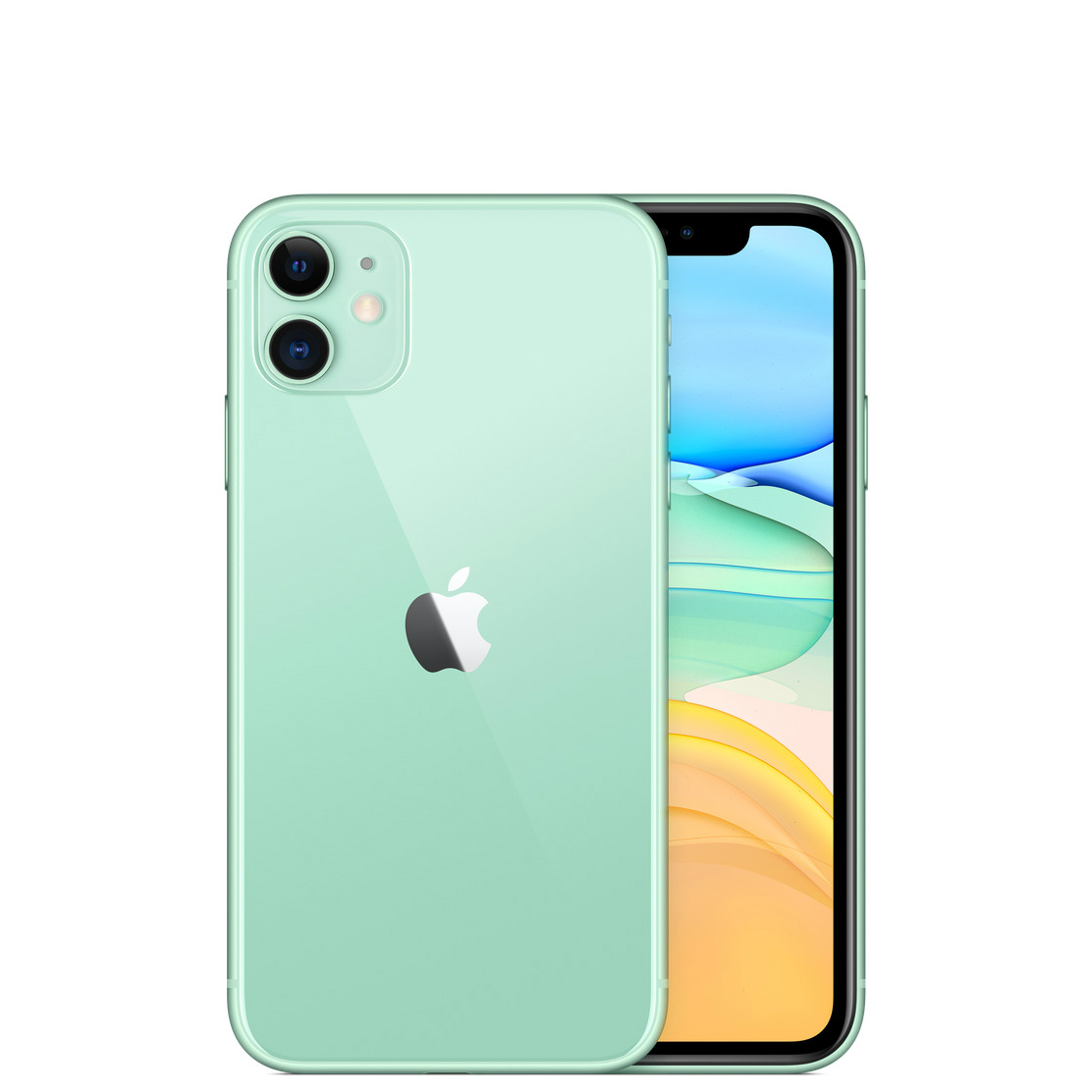 Image of Apple iPhone 11 128GB A2223 Dual Sim - Green