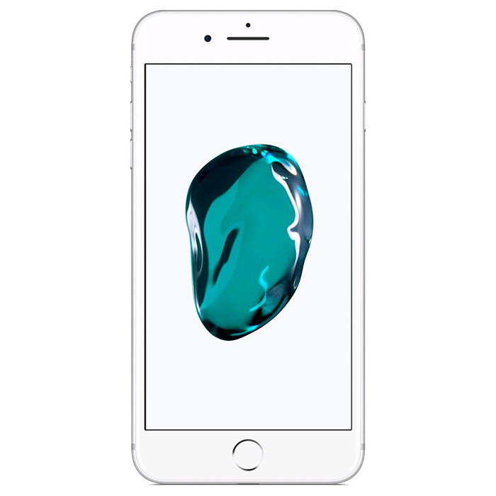 Image of Apple iPhone 7 plus 128GB - White Silver