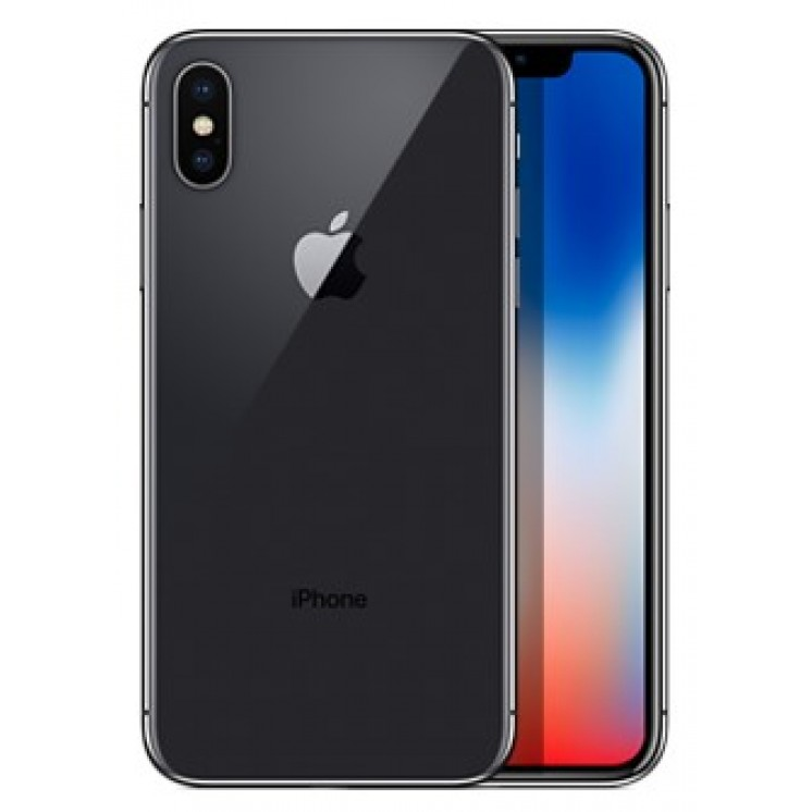 Apple iPhone X 64GB with 3D Curved Premium Tempered Glass Screen Protector (Black Edge) - Space Gray cheapest retail price