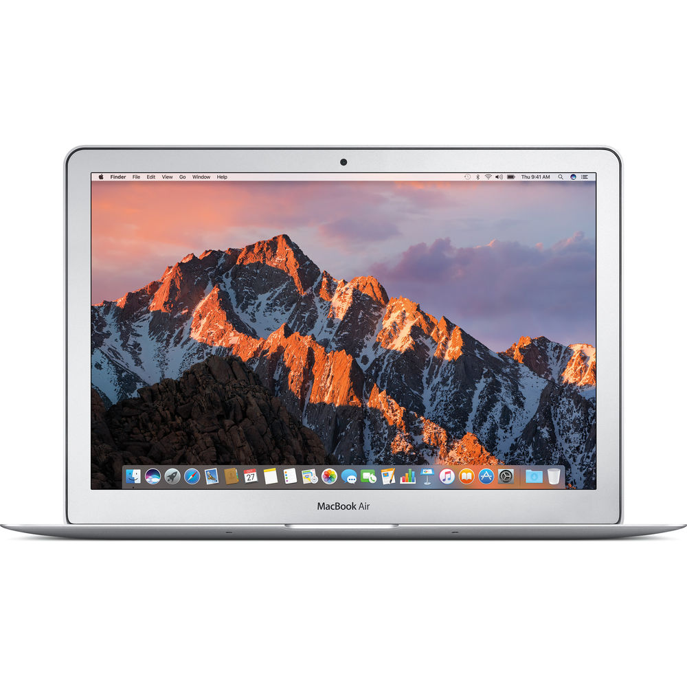 Image of Apple Macbook Air 13.3 Dual-Core i5 1.8GHz 8GB 128GB Silver - MQD32, US keyboard Layout