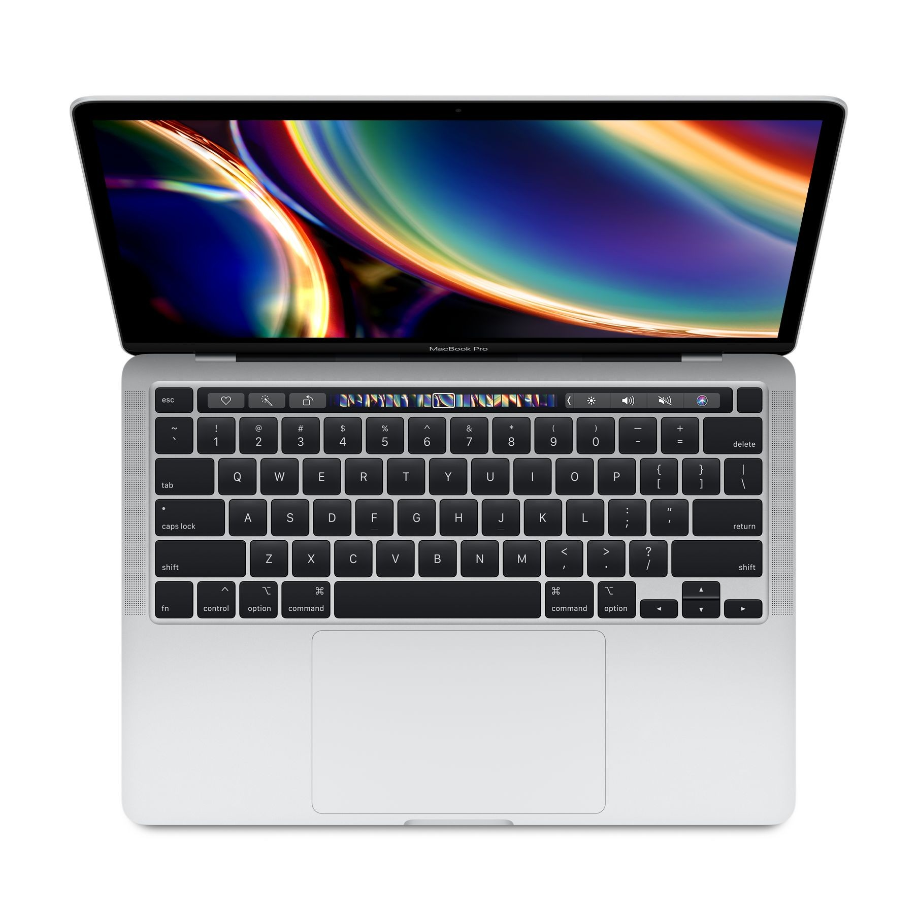 "Image of Apple MacBook Pro 13"" (M1 2020) 8GB 256GB MYDA2 - Silver (US Keyboard)"