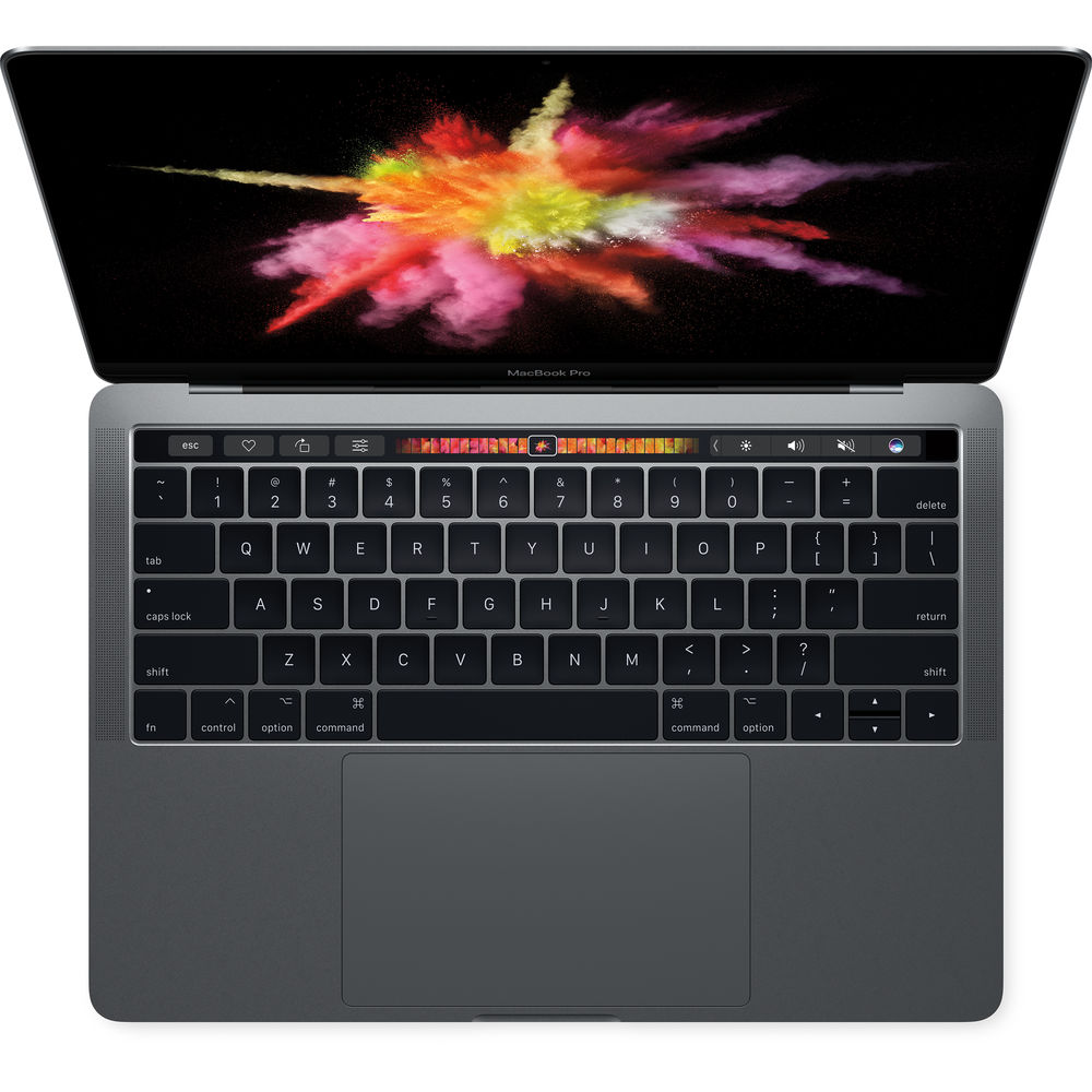 """Image of Apple Macbook Pro 2017 13.3"""" Retina Dual-core i5 3.1Ghz 8GB 256GB with Touch ID & Touch Bar Space Gray - MPXV2, US keyboard Layout"""