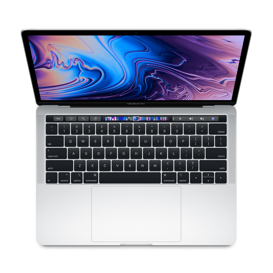 Image of Apple Macbook Pro (2019) with Touch Bar 13-inch 2.4GHz I5 256GB Silver - MV992 [US Keyboard]