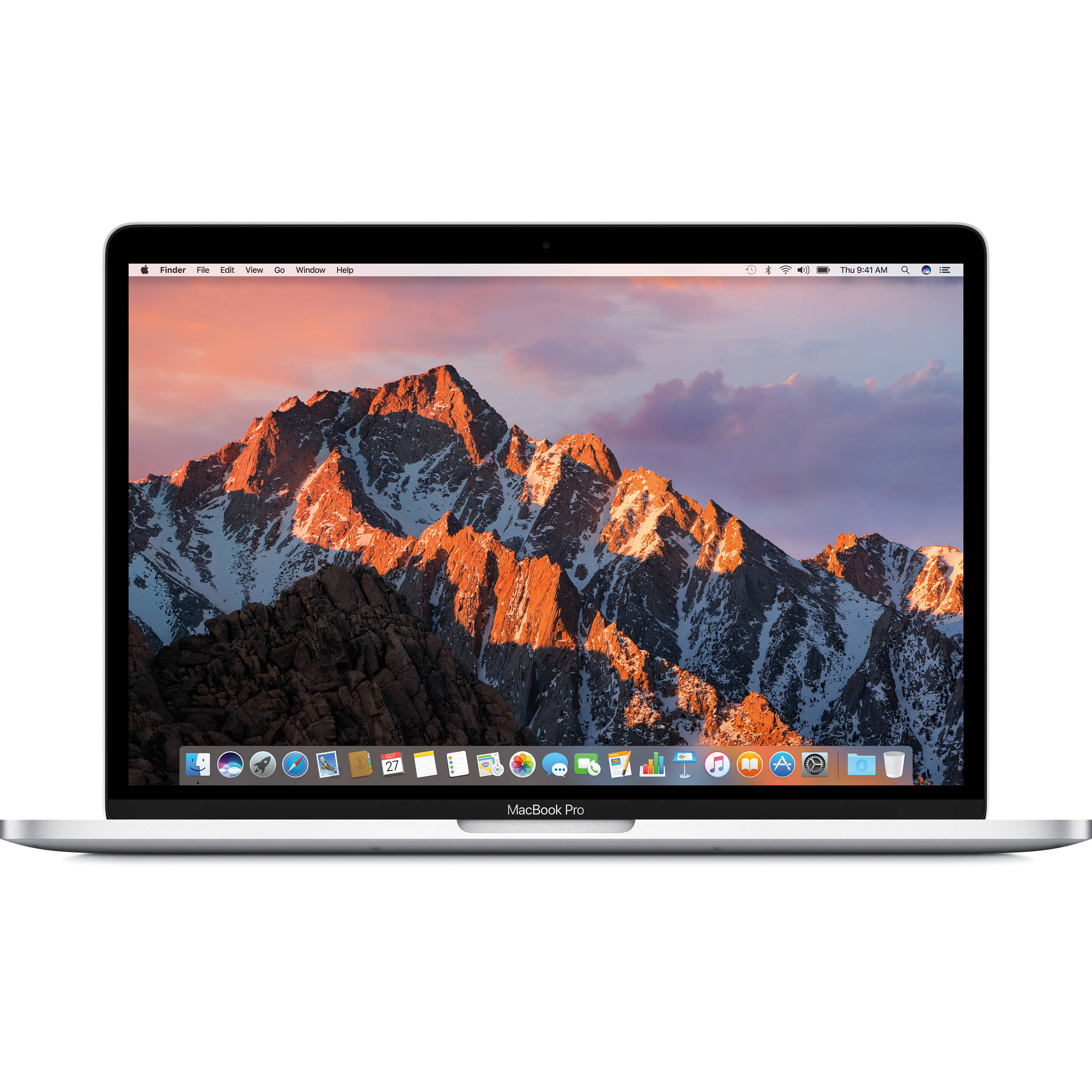 "Image of Apple Macbook Pro (2020) with Touch Bar 13.3"" 1.4GHz i5 512GB Silver - MXK72 (US Keyboard)"