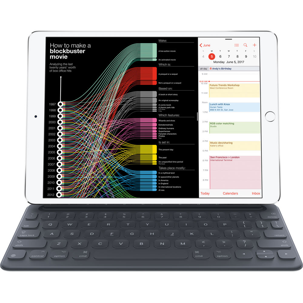 "Image of Apple Smart Keyboard for ipad pro (2017) 10.5"" (US Keyboard)"