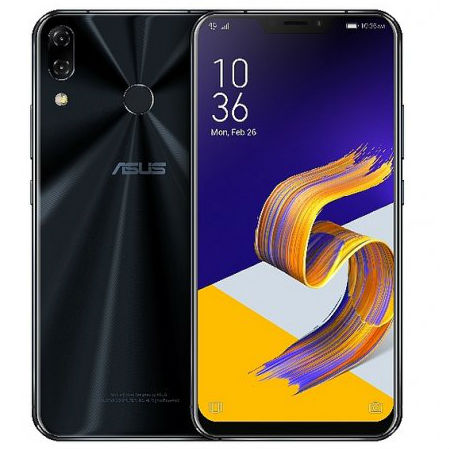 Image of Asus Zenfone 5 (2018) ZE620KL 4GB/64GB Dual Sim with 32GB Micro SDHC Memory Card with SD Adapter - Midnight Blue