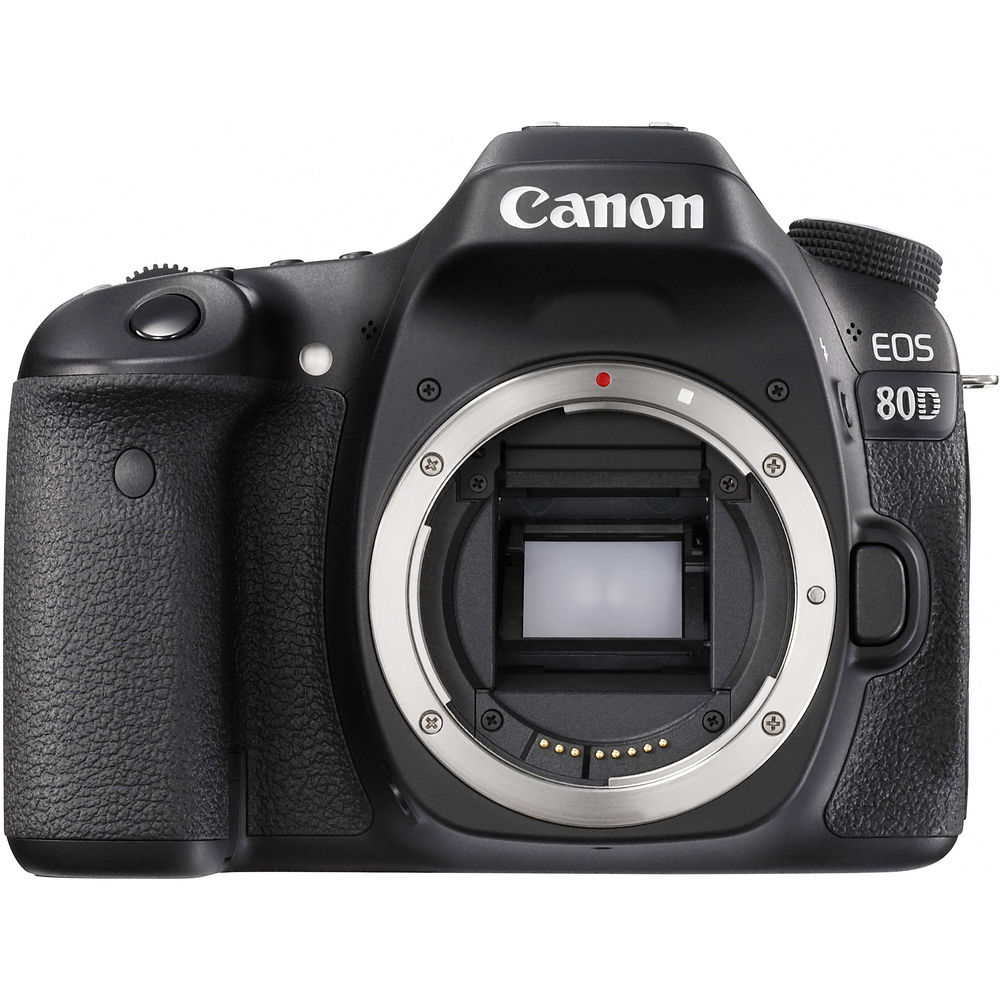 Image of Canon EOS 80D Body Only Digital SLR Camera [kit box]