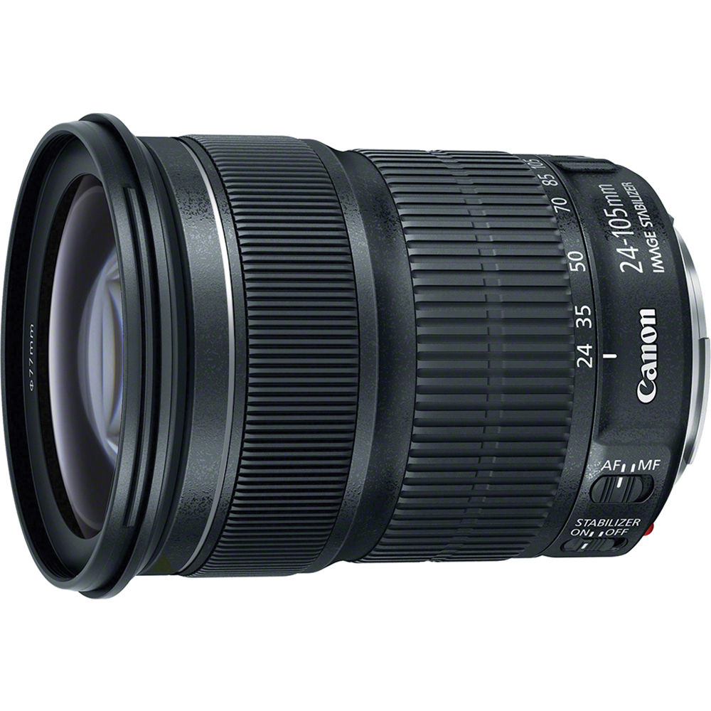 Image of Canon EF 24-105mm f/3.5-5.6 IS STM Lenses (White Box)