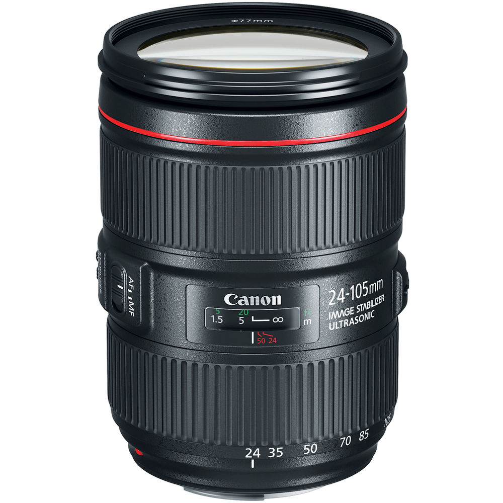 Image of Canon EF 24-105mm f/4L IS II USM Lenses (White Box)