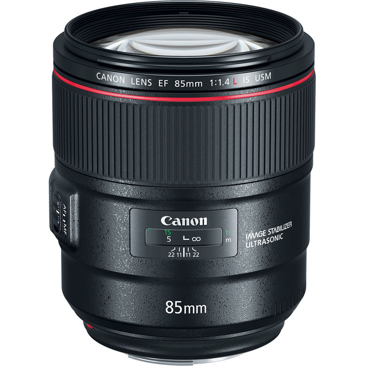 Image of Canon EF 85mm f/1.4L IS USM Lens