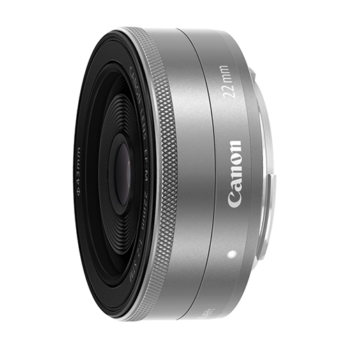 Image of Canon EF-M 22mm f/2 STM Lenses -Silver