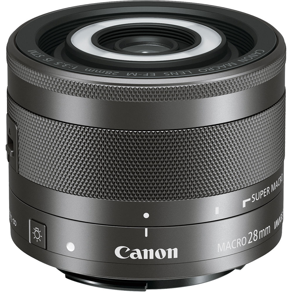 Image of Canon EF-M 28mm f/3.5 Macro IS STM Lens