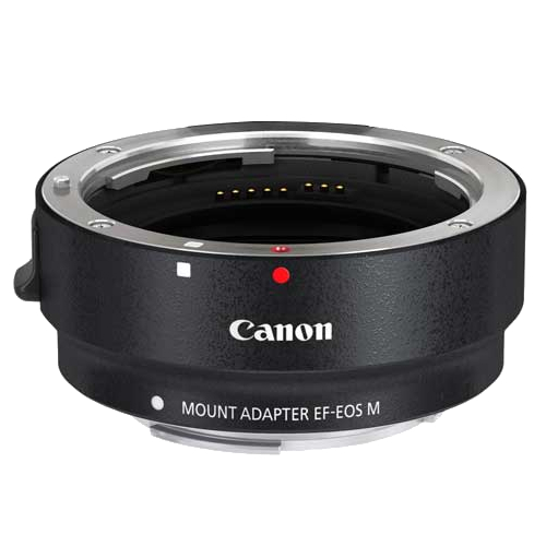 Image of Canon EF-M Lens Adapter for Canon EF / EF-S Lenses