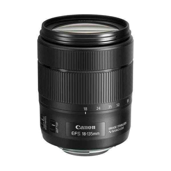 Image of Canon EF-S 18-135mm f/3.5-5.6 IS USM Lens (White Box)