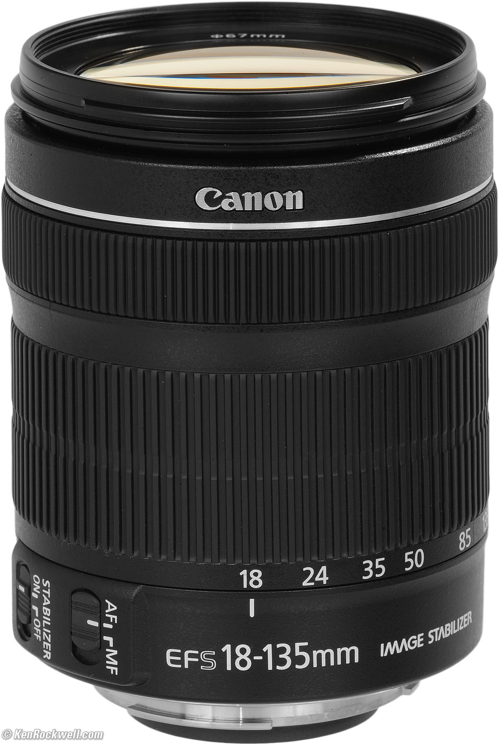 Image of Canon EF-S 18-135mm f/3.5-5.6 IS STM Lens For Canon Mount
