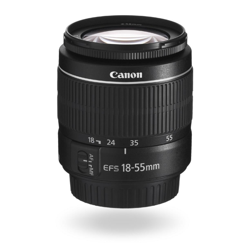 Image of Canon EF-S 18-55mm f/3.5-5.6 III (White Box)