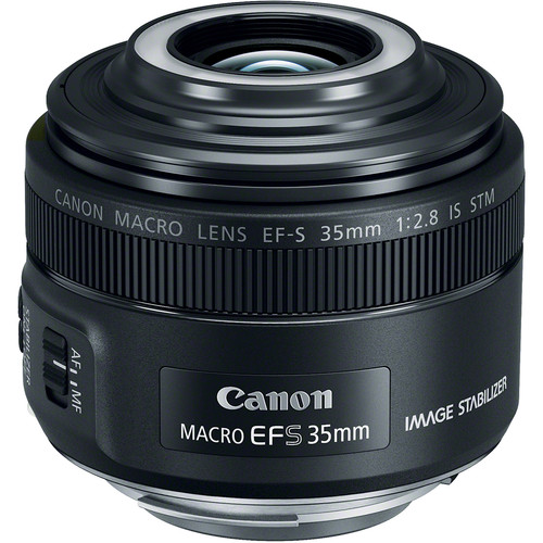 Image of Canon EF-S 35mm f/2.8 Macro IS STM Lens