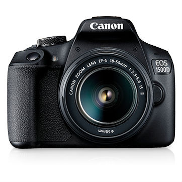 Image of Canon EOS 1500D Kit with 18-55 IS II Lens Digital SLR Cameras