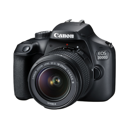 Image of Canon EOS 3000D Kit with 18-55 III Lens Digital SLR Cameras