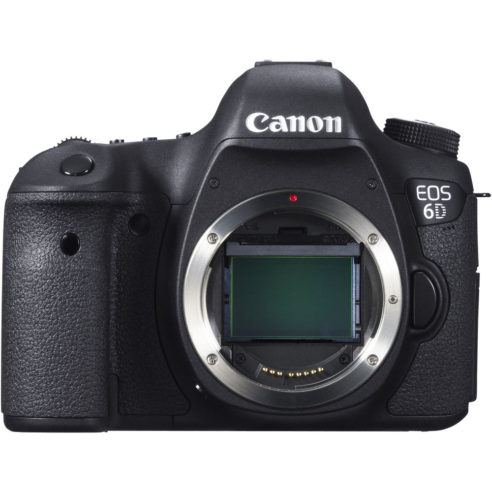 Image of Canon EOS 6D DSLR Camera (Body Only)