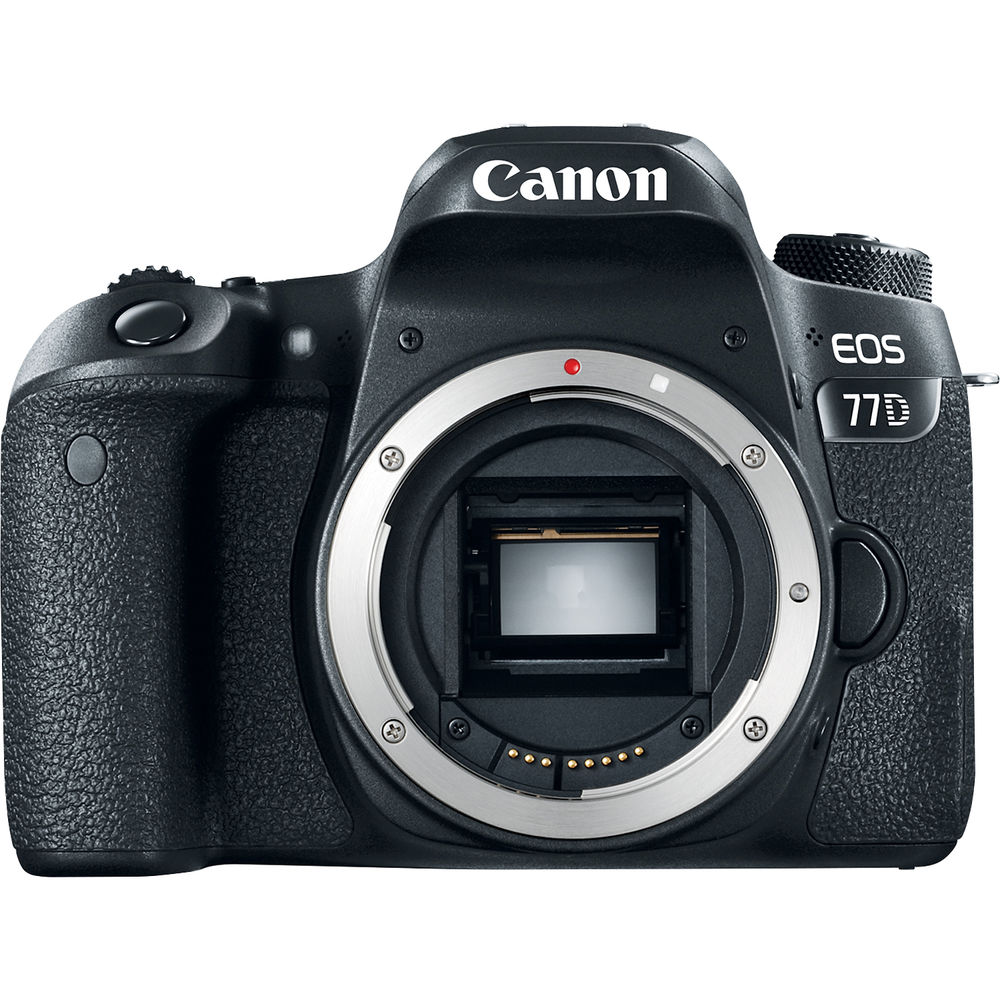 Image of Canon EOS 77D Body Only Digital SLR Camera [kit box]