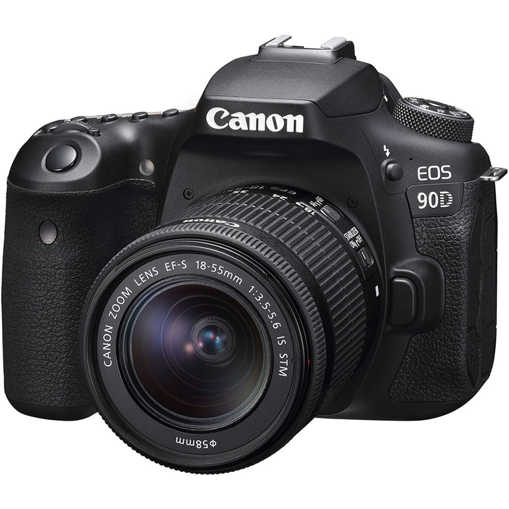 Image of Canon EOS 90D Kit with 18-55mm f/3.5-5.6 IS STM Lens Digital SLR Cameras