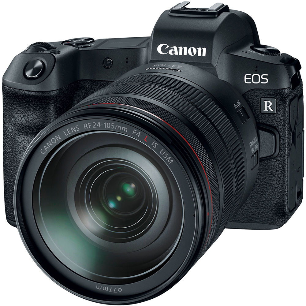 Image of Canon EOS R Mirrorless Digital Camera with RF 24-105mm Lens