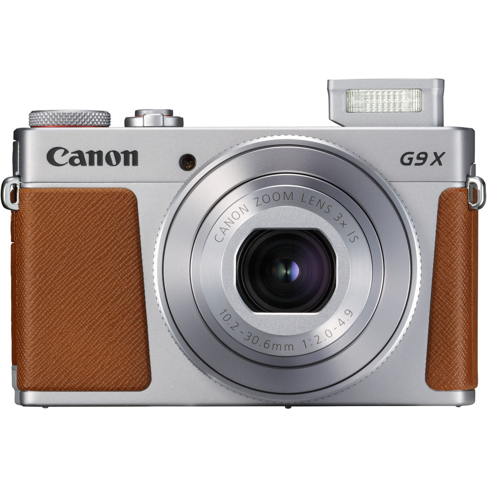 Image of Canon Powershot G9X Mark II Digital Cameras - Silver