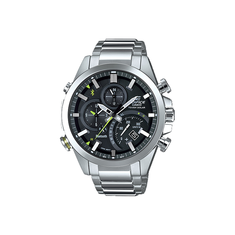 Image of Casio EDIFICE Smartphone Link Bluetooth Dual World Time Watch EQB-501D-1A