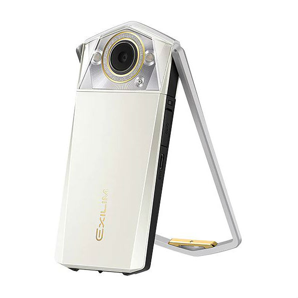 Image of Casio Exilim EX-TR80 Digital Cameras - White
