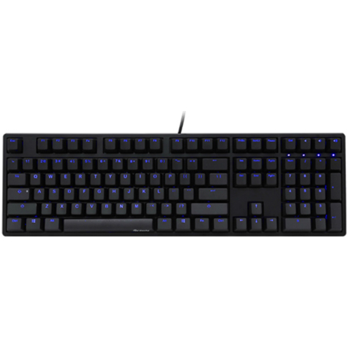 Image of Ducky One Blue Cherry MX Blue LED Backlit Mechanical Keyboard (DKON1508S-CUSADAAB1)