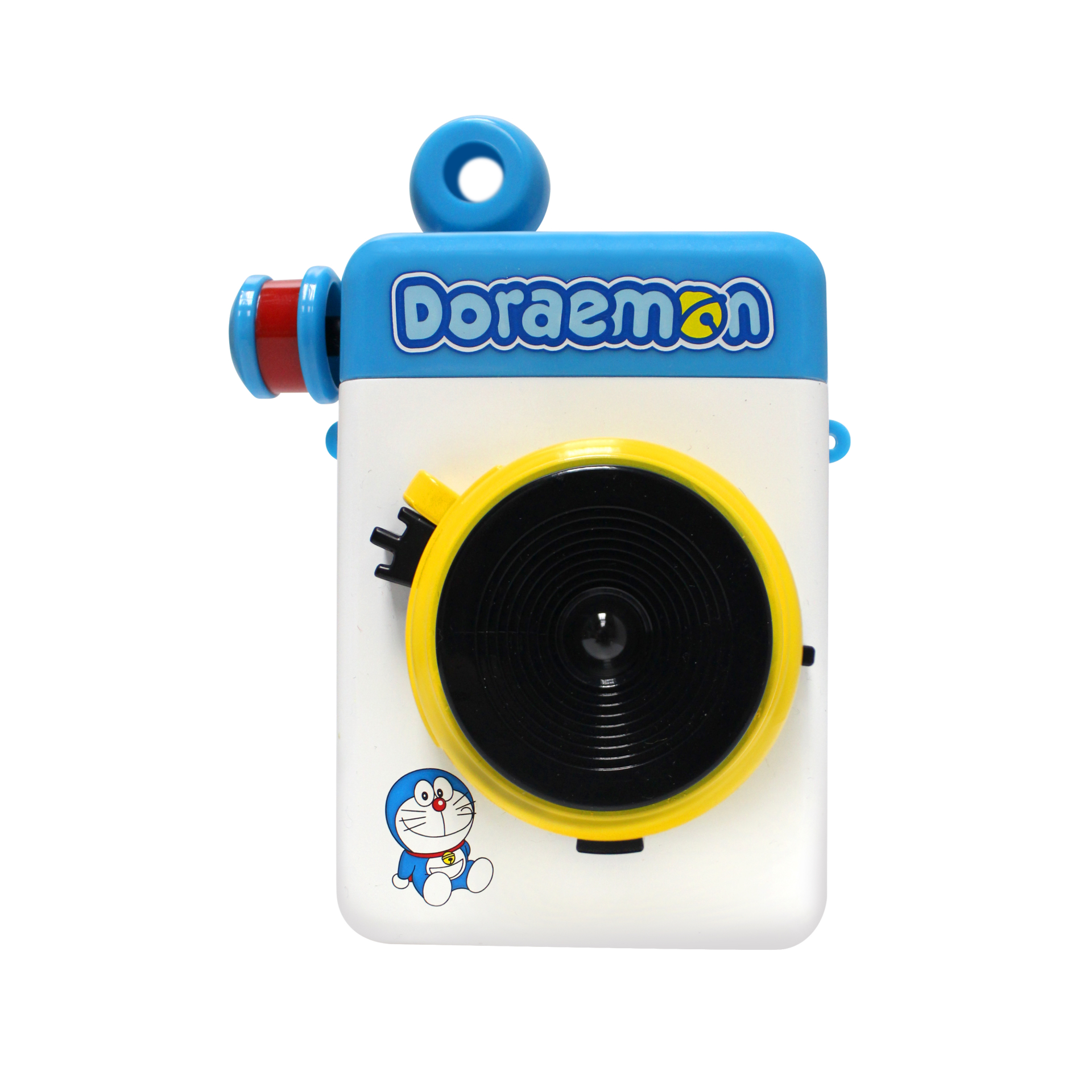 Image of Escura Instant 60s Hand-powered Instant Camera with ES-60FL External Flash (Blue) - Doraemon